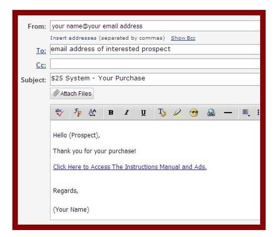 Email Processing System - Example of email