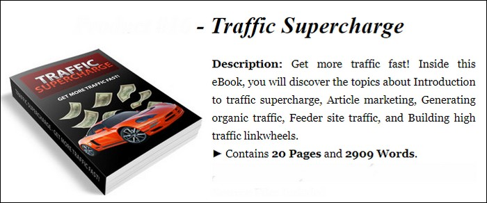 Traffic Supercharge